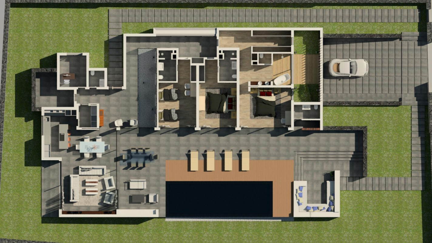 3 Bedroom  House / Villa